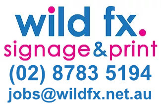 Wild FX Signage & Print Logo
